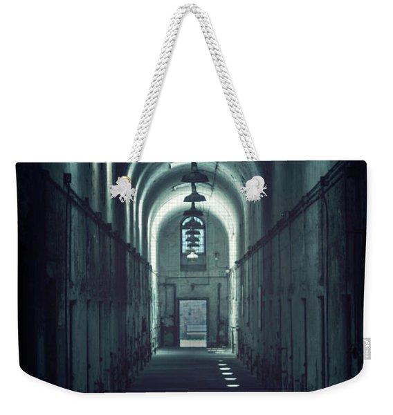 Dark Tunnels Weekender Tote Bag