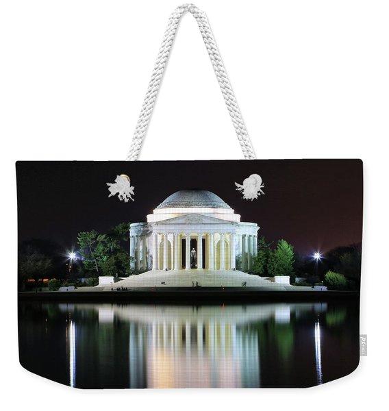 Darkness Over The Jefferson Memorial Weekender Tote Bag