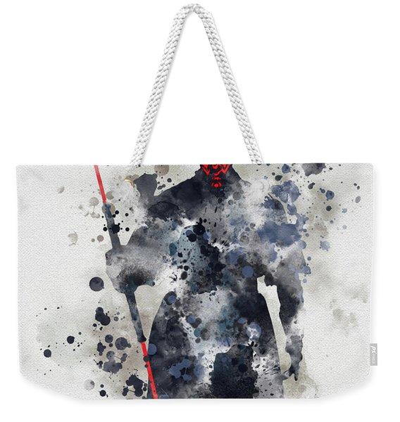 Darth Maul Weekender Tote Bag