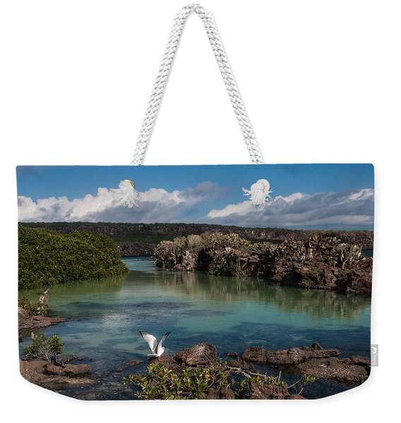 Darwin Bay     Genovesa Island      Galapagos Islands Weekender Tote Bag