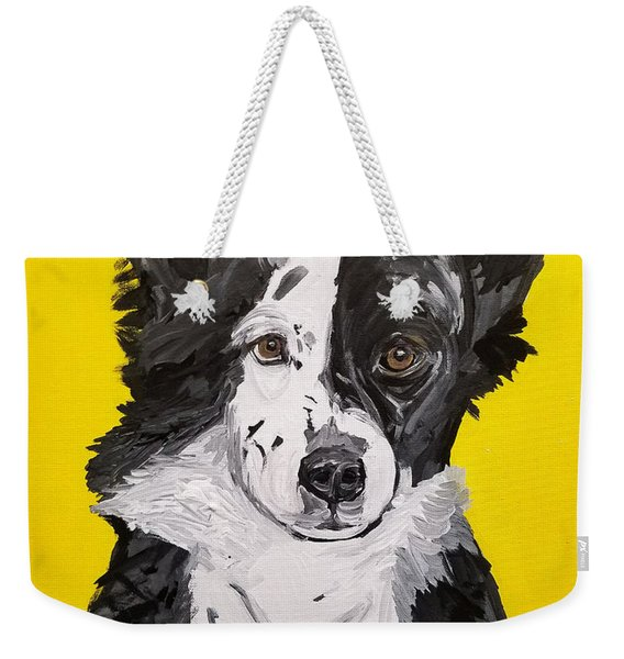 Dasha Date With Paint Nov 20th Weekender Tote Bag