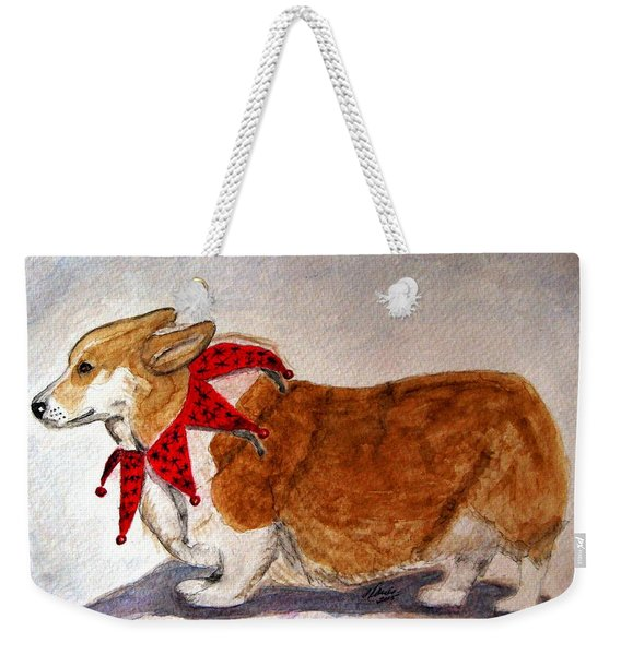 Dashing Through The Snow Surely You Jest Weekender Tote Bag