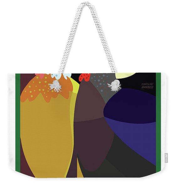 Date Night Weekender Tote Bag