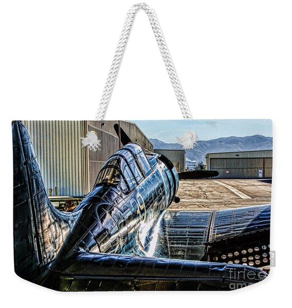 Dauntless Over The Shoulder  Weekender Tote Bag