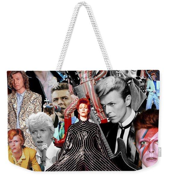 David Bowie 6 Weekender Tote Bag