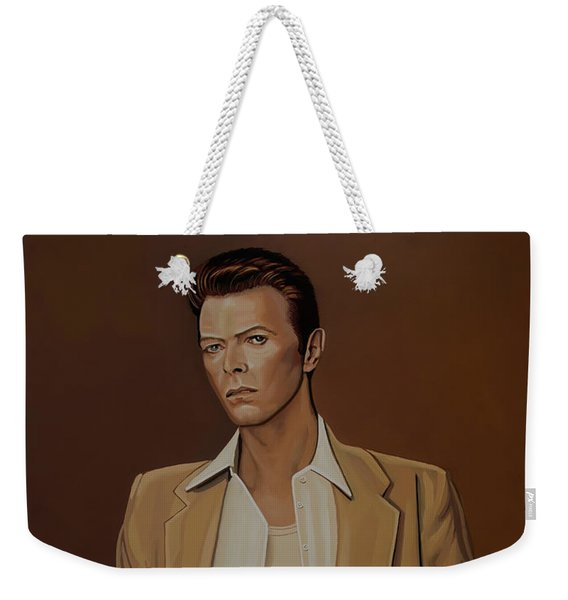 David Bowie Four Ever Weekender Tote Bag