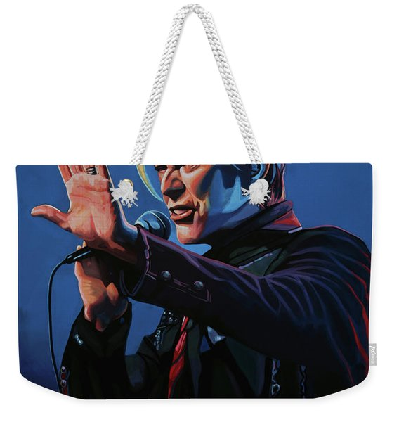 David Bowie Live Painting Weekender Tote Bag