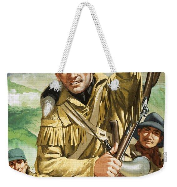 Davy Crocket Weekender Tote Bag
