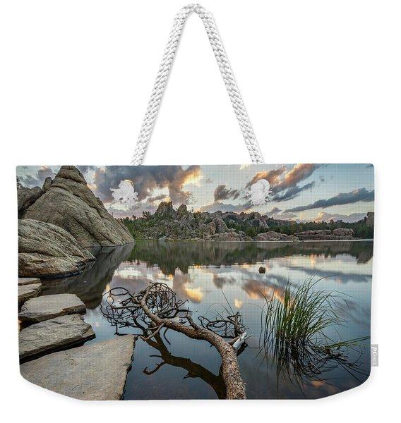 Dawn At Sylvan Lake Weekender Tote Bag