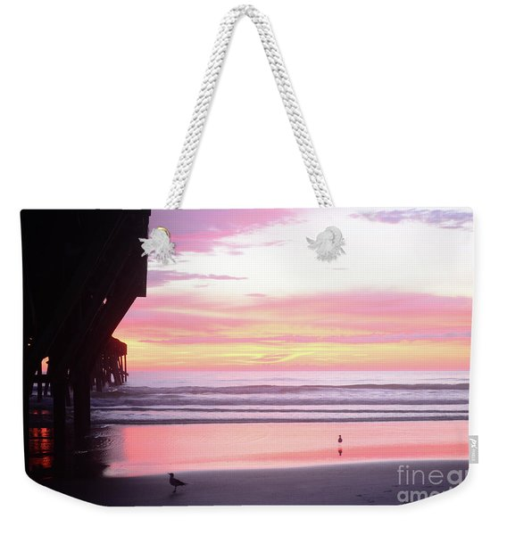 Dawn At The Beach 8-14-16 Weekender Tote Bag