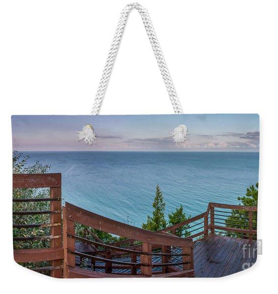 Dawn Colors At Arcadia Overlook Weekender Tote Bag