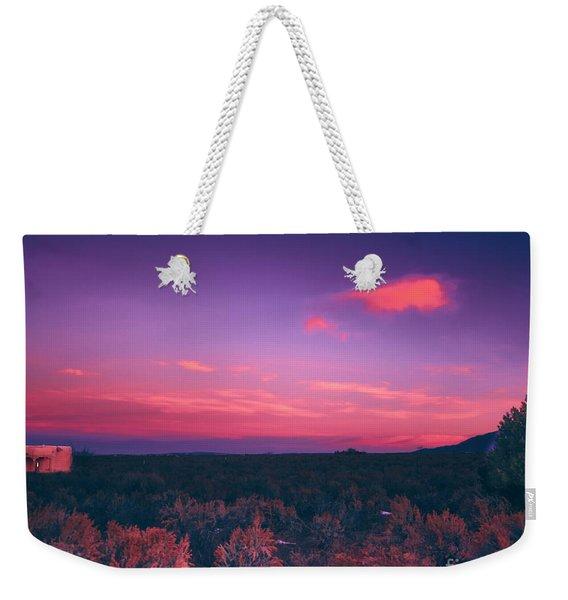 Dawn In Taos Weekender Tote Bag