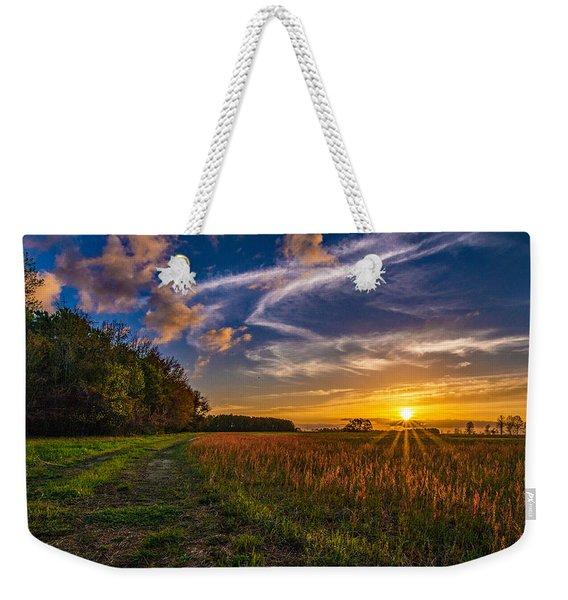 Dawn In The Lower 40 Weekender Tote Bag