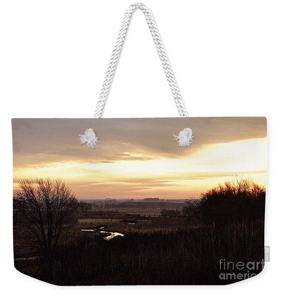Dawn In The Valley Weekender Tote Bag