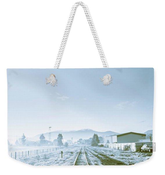 Dawn Line Weekender Tote Bag