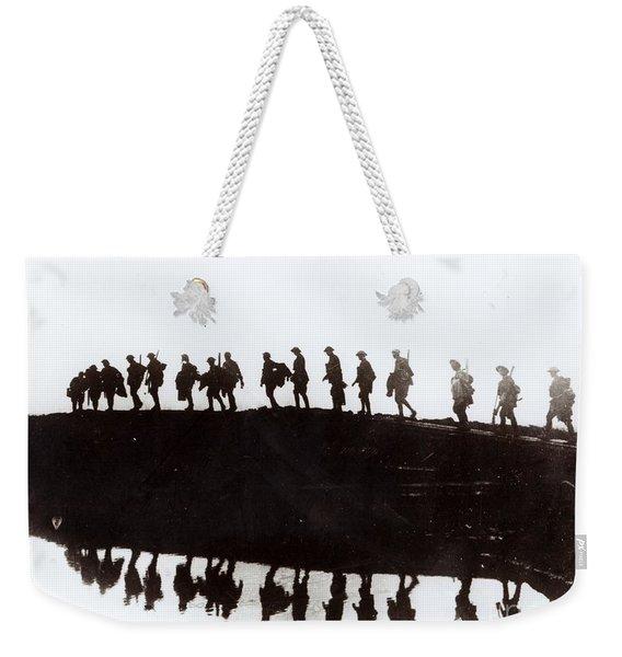 Dawn March Weekender Tote Bag