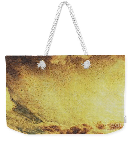Dawn Of A New Day Texture Weekender Tote Bag