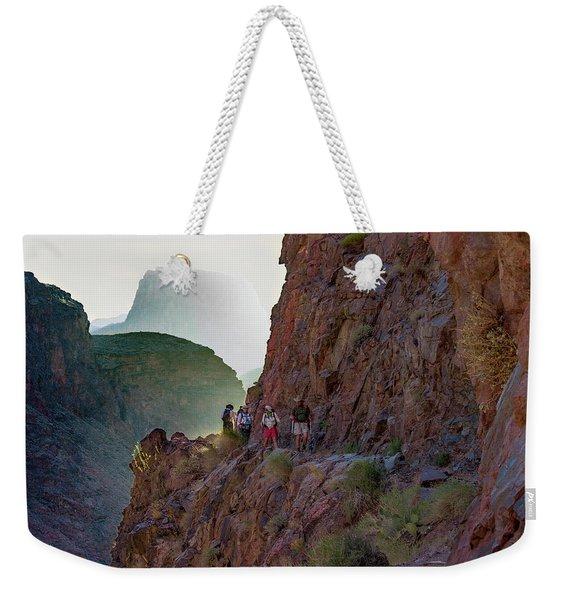 Dawn On Bright Angel Trail Weekender Tote Bag