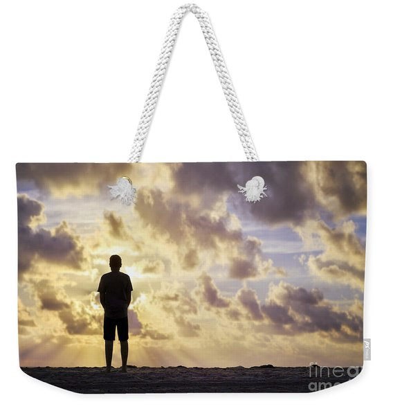 Dawn Patrol Weekender Tote Bag