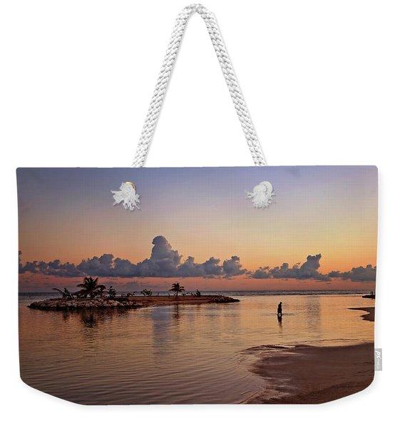 Dawn Reflection Weekender Tote Bag