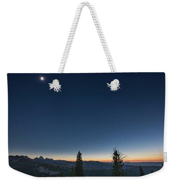 Day Becomes Night Weekender Tote Bag