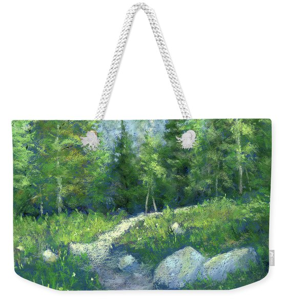 Day Hike Weekender Tote Bag