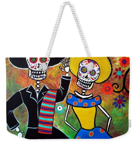 Day Of The Dead Bailar Weekender Tote Bag