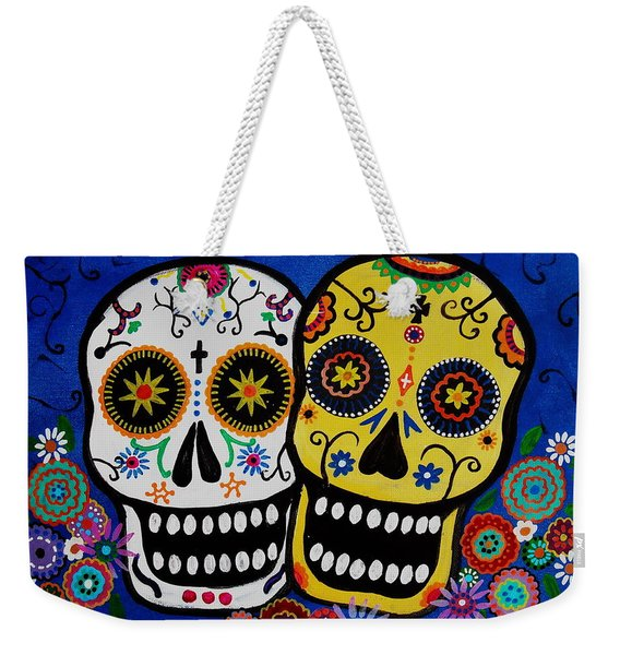 Day Of The Dead Sugar Weekender Tote Bag
