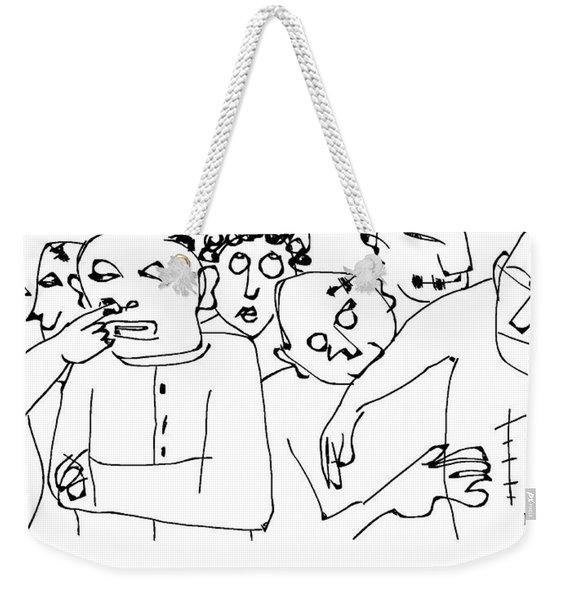 Day Room- Ward 10 Weekender Tote Bag