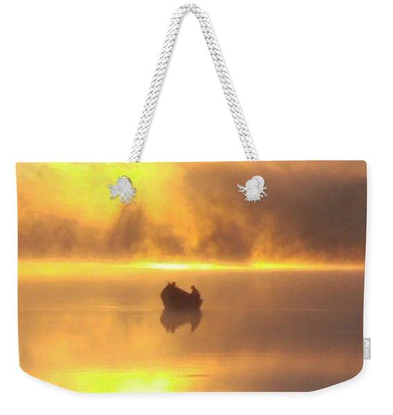 Daybreak Fishermen Weekender Tote Bag