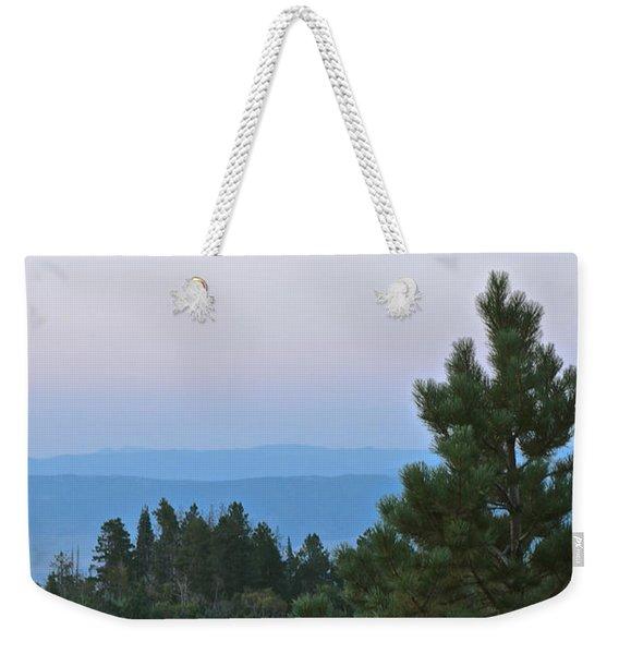 Daybreak On The Mountain Weekender Tote Bag