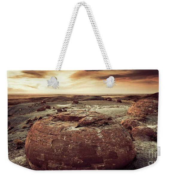 Daylight Leaving Redrock Weekender Tote Bag