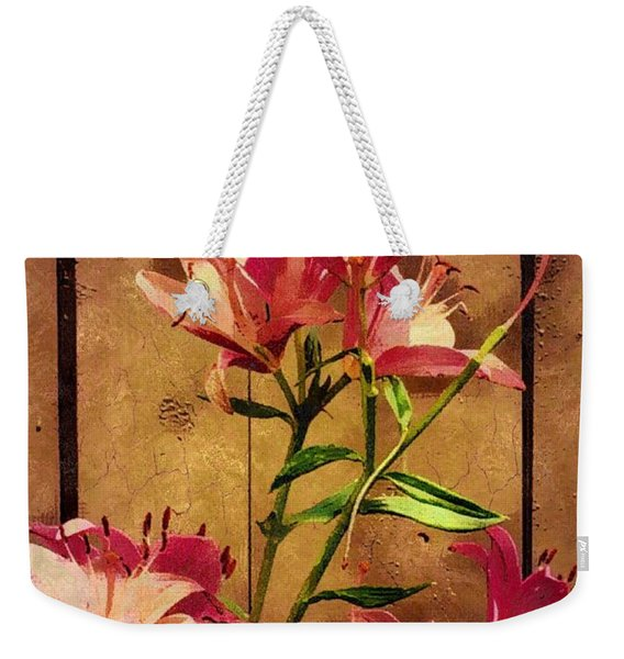 Dayliliys In  Guilford , Conn Weekender Tote Bag