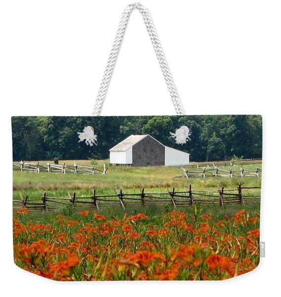 Daylily Drama Weekender Tote Bag