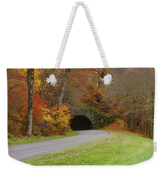 Lickstone Tunnel Weekender Tote Bag