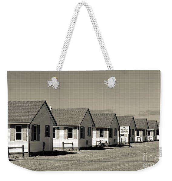 Day's Cottages Or The Flower Cottages Of Cape Cod Weekender Tote Bag