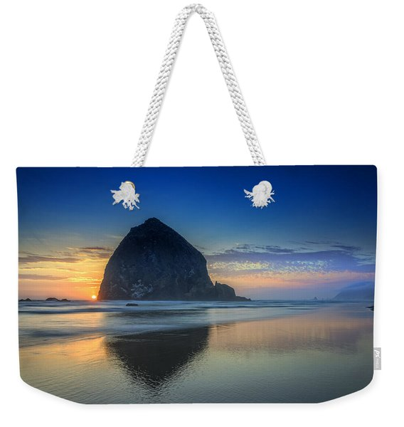 Day's End In Cannon Beach Weekender Tote Bag