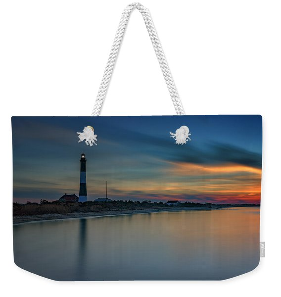 Day's End On Fire Island Weekender Tote Bag