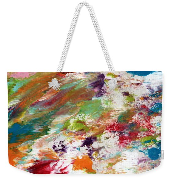 Days Gone By- Abstract Art By Linda Woods Weekender Tote Bag