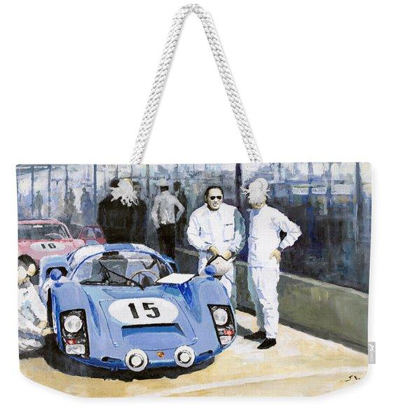 Daytona 1966 Porsche 906 Herrmann-linge Weekender Tote Bag