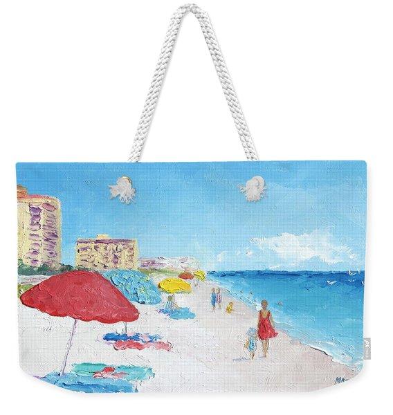 Daytona Beach Weekender Tote Bag