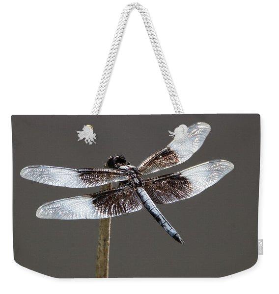 Dazzling Dragonfly Weekender Tote Bag
