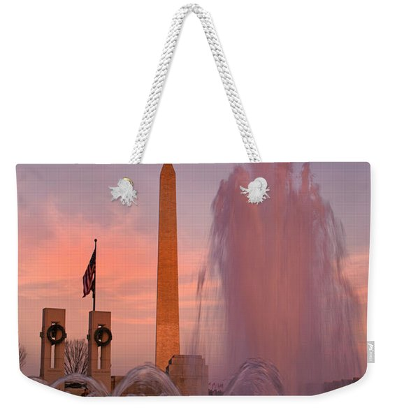 Dc Sunset Weekender Tote Bag