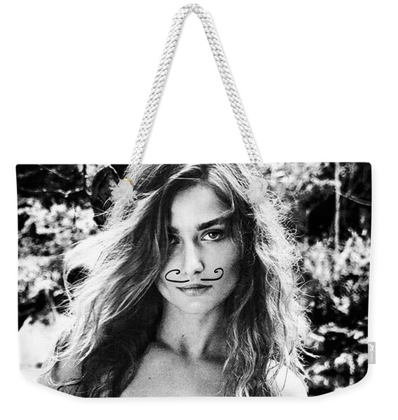 De-faced By Two Strokes Of The Pen! Weekender Tote Bag