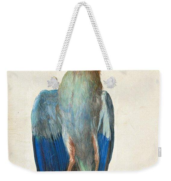 Dead Blue Roller Weekender Tote Bag