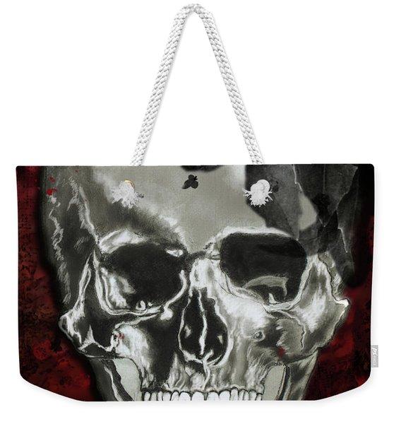 Dead Fancy Skull Weekender Tote Bag