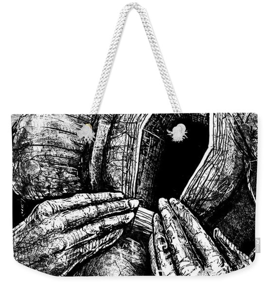 Dead Heart Weekender Tote Bag