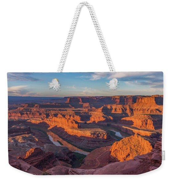 Dead Horse Point Sunrise Panorama Weekender Tote Bag