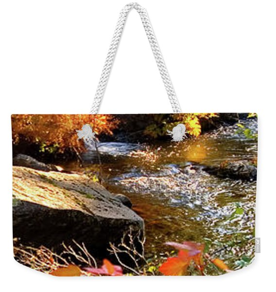 4 Of 6 Dead River Falls  Marquette Michigan Section Weekender Tote Bag