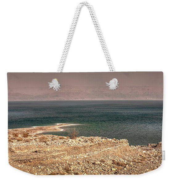 Dead Sea Coastline 1 Weekender Tote Bag
